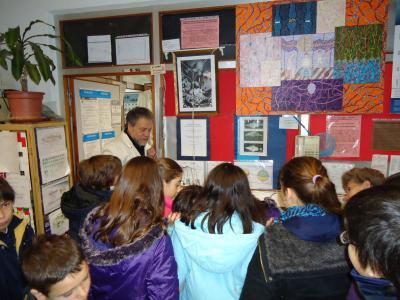 Visita de escolares al Laboratorio