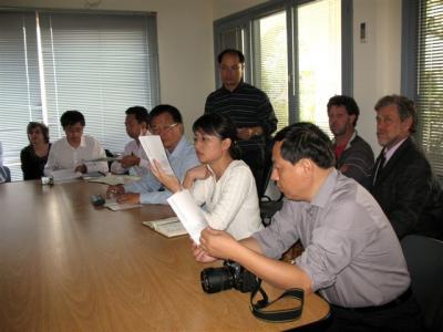 Importante delegación de autoridades científicas chinas visita Uruguay