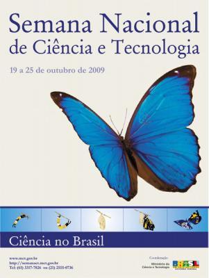 Semana Nacional de Ciência e Tecnologia, 19 a 25 de outubre, 2009, Brasil
