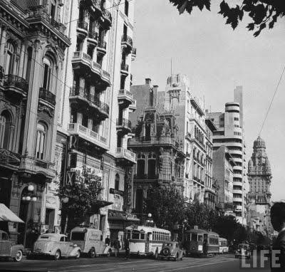Inmediaciones del palacio Lapido en 1941