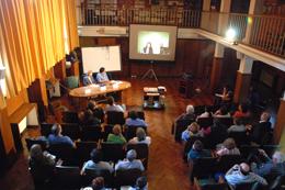 La Primera Videoconferencia del Instituto Clemente Estable