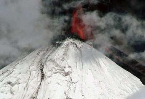 Entra en erupción complejo volcánico en el sur de Chile